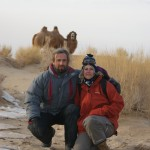 Karin & Ulli mit Wildkamelhengst